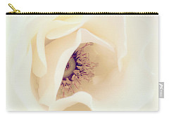 Romance In A Rose Carry-all Pouch by Spikey Mouse Photography