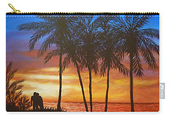 Romance In Paradise Carry-all Pouch