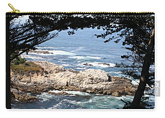 Romantic California Coast Carry-all Pouch by Christiane Schulze Art And Photography