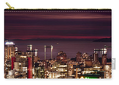 Carry-all Pouch featuring the photograph Romantic English Bay Mdcci by Amyn Nasser
