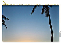 Romantic Maui Sunset Carry-all Pouch