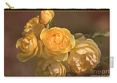 Romantic Roses Carry-all Pouch by Joy Watson