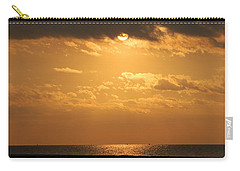 Romantic Sunrise Carry-all Pouch by Leticia Latocki
