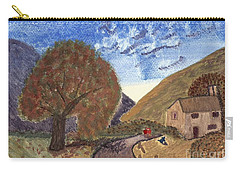 Carry-all Pouch featuring the painting Romantic Walk by Tracey Williams