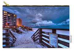 Romar Beach Clouds Carry-all Pouch