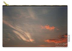 Romantic Sky Carry-all Pouch by Kiran Joshi