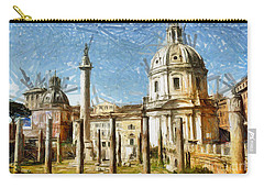 Rome Italy - Drawing Carry-all Pouch