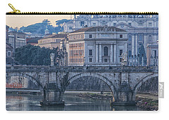 Rome Saint Peters Basilica 02 Carry-all Pouch by Antony McAulay