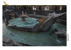 Rome's Fabulous Fountains - Fontana Della Barcaccia At The Spanish Steps  Carry-all Pouch