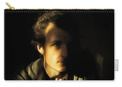 Carry-all Pouch featuring the digital art Ron Harpham by Ron Harpham