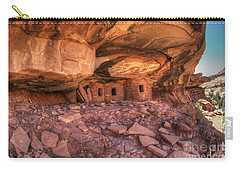 Roof Falling In Ruin 2 Carry-all Pouch by Bob Christopher