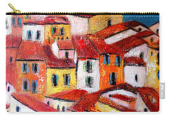 Rooftops Collioure Carry-all Pouch