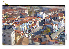 Carry-all Pouch featuring the photograph Rooftops by Vicki Spindler