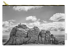 Carry-all Pouch featuring the photograph Room On Top by Howard Salmon