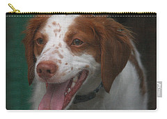 Rooney At The Back Door Carry-all Pouch