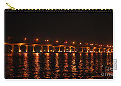 Carry-all Pouch featuring the photograph Roosevelt Bridge Panorama by Olga Hamilton