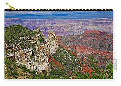 Roosevelt Point Two On North Rim/grand Canyon National Park-arizona   Carry-all Pouch