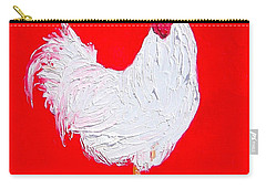 Rooster For The Cafe Carry-all Pouch