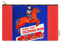 Rootin Tootin Fun Carry-all Pouch by Beth Saffer