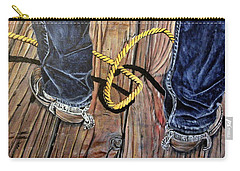 Roping Boots Carry-all Pouch