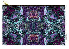 Rorschach Me Carry-all Pouch by Carol Jacobs