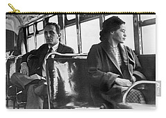 Rosa Parks On Bus Carry-all Pouch