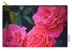 Rose 138 Carry-all Pouch by Pamela Cooper