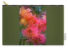 Rose 219 Carry-all Pouch by Pamela Cooper
