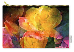 Rose 224 Carry-all Pouch by Pamela Cooper