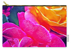 Rose 49 Carry-all Pouch by Pamela Cooper