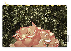 Rose 55 Carry-all Pouch by Pamela Cooper