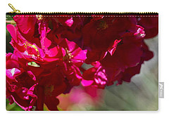 Carry-all Pouch featuring the photograph Rose Bouquet by Michele Myers