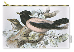 Rose Coloured Starling Carry-all Pouch by English School
