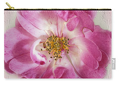 Carry-all Pouch featuring the photograph Rose by Elaine Teague