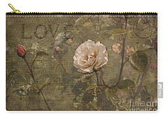 Carry-all Pouch featuring the photograph Rose Garden by Liz  Alderdice