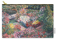 Rose Garden Carry-all Pouch by Quin Sweetman