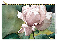 Watercolor Of A Lilac Rose  Carry-all Pouch