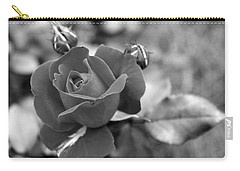 Rose Of Grace Carry-all Pouch by Faith Williams
