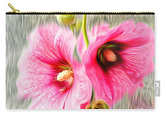 Rose Of The North Abstract. Carry-all Pouch by Ian Gledhill