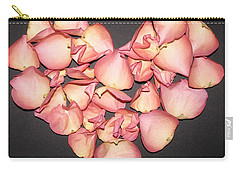 Rose Petals Heart Carry-all Pouch