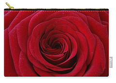 Carry-all Pouch featuring the photograph Rose Red by Shawn Marlow