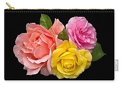 Rose Trilogy Carry-all Pouch by Jane McIlroy