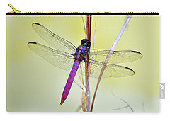 Roseate Skimmer Dragonfly Carry-all Pouch