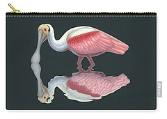 Spoonbill Carry-all Pouches