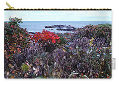 Carry-all Pouch featuring the photograph Rosehip by Mim White