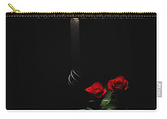 Roses By Lamplight Carry-all Pouch