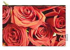 Roses On Your Wall Carry-all Pouch