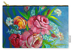 Roses Roses Jenny Lee Discount Carry-all Pouch
