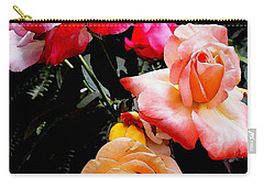 Carry-all Pouch featuring the photograph Roses Roses Roses by James C Thomas