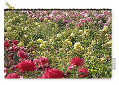 Roses Roses Roses Carry-all Pouch by Laurel Powell